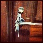 zamek do drzwi