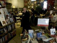 stoisko z ksiązkami na targach