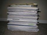 papiery przygotowane do niszczenia