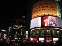 reklama na telebimach w mieście