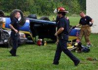 wypadek samochodowy - pierwsza pomoc